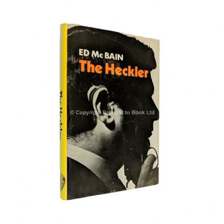 The Heckler Signed by Ed McBain​​​​​​​ First Edition (first thus) Hamish Hamilton 1978
